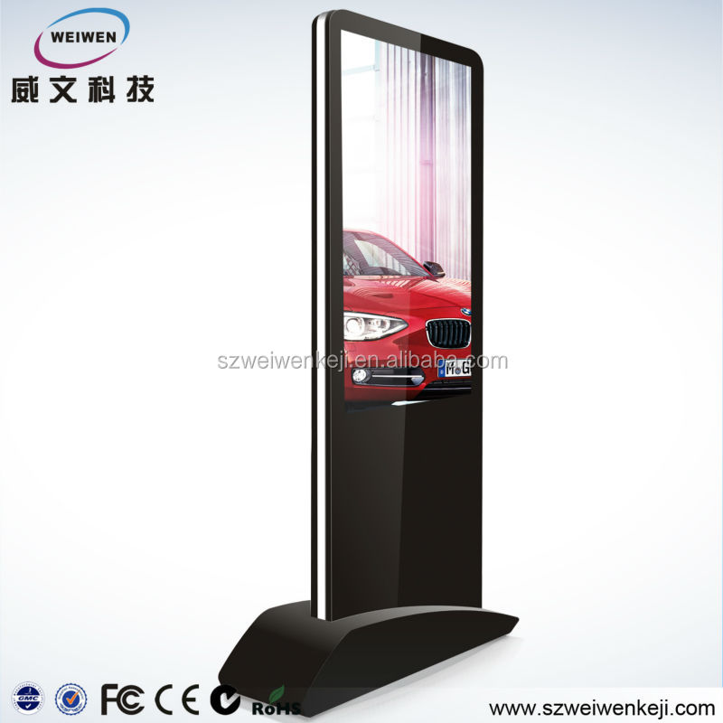 42inch with LG multi touchscreen table led screen panel advertising kiosk all in one pc network hd media player
