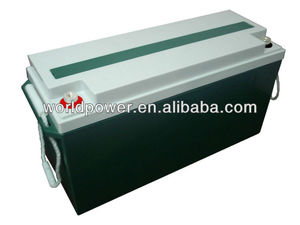 High Quality Deep Cycle 80Ah 100Ah 120Ah 150Ah 200Ah Gel Battery