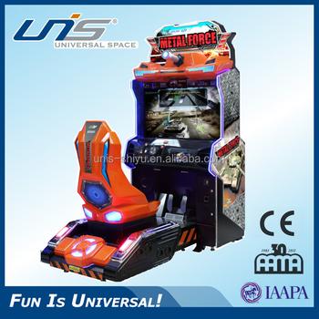 Unis Metal Force Car Racing Simulator Arcade Game Machine F1 ...