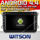 WITSON ANDROID 4.4 FOR VW CADDY CAR GPS RECEIVER WITH 1.6GHZ FREQUENCY A8 DUAL CORE CHIPSET BLUETOOTH GPS WIFI 3G