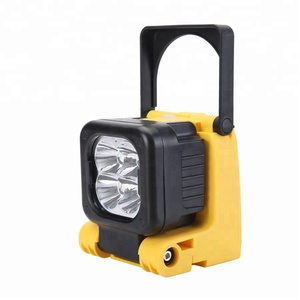 New arrival model IL4001 lithium battery handheld light Cree 12W rechargeable firefighting safety lamp