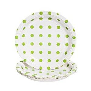 Cheap Polka Dot Plastic Plates Find Polka Dot Plastic Plates Deals  sc 1 st  Table \u0026 Chair Sets : polka dot plastic plates - pezcame.com