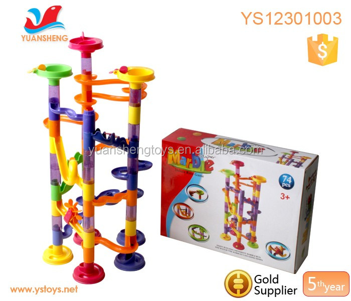 Toys With Balls And Tubes : Pcs colorful plastic tube toy marble deluxe ball game