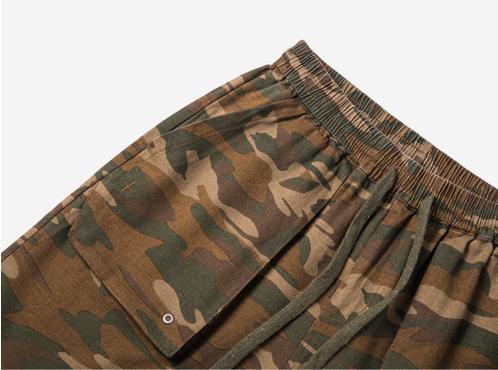Ganador de los hombres Hip Hop pantalones cortos de camuflaje los hombres  de moda de calle d2b2b024361