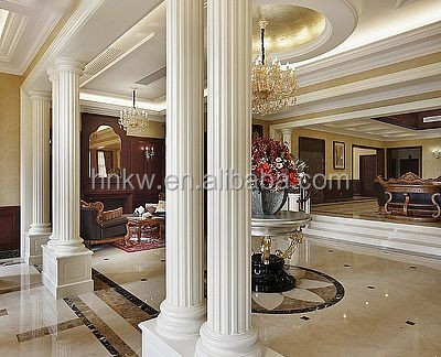 Ky 1206 House Decorative Pu Foam Inside Decorative Columns