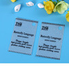 Professional customized design plastic hang tags/price tag for private label hat hand tag for clothing