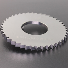 Tungsten carbide tipped circular saw blade for cutting metal