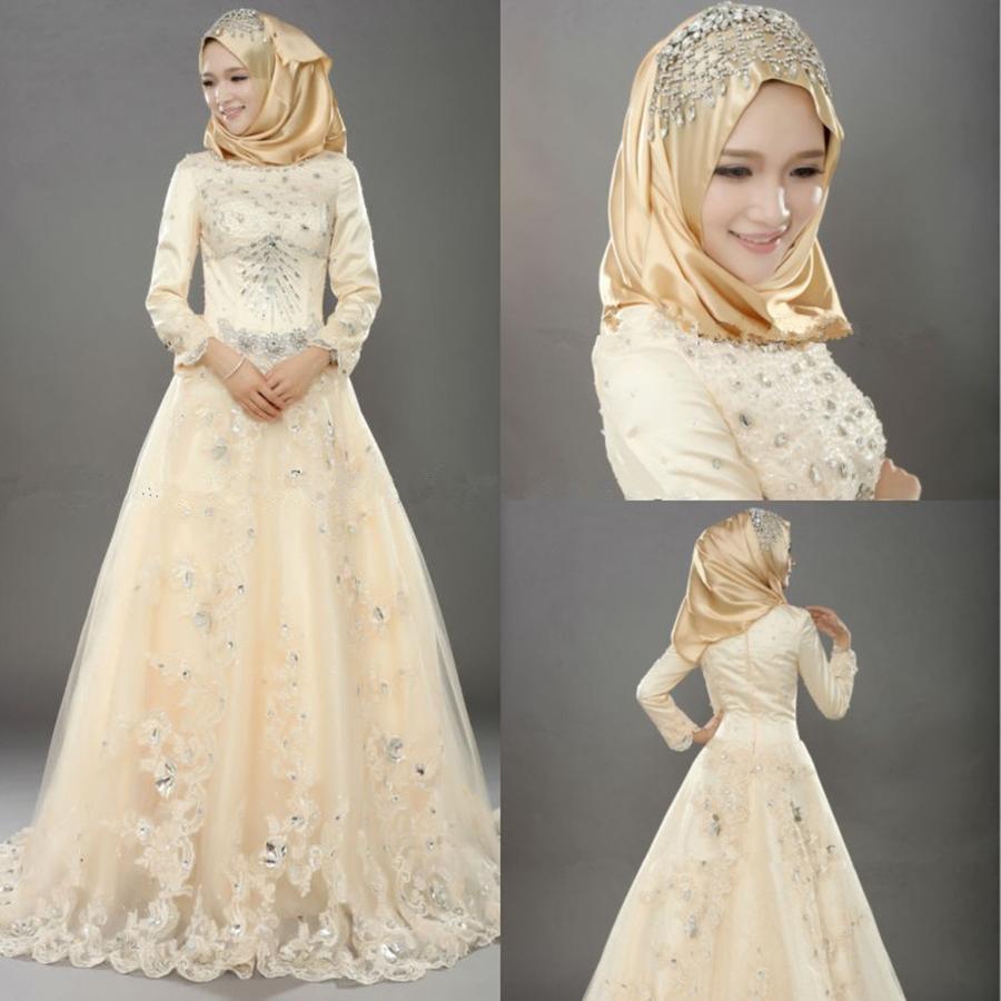 Muslim Wedding Dresses Indian Style Vintage Bridal Dresses
