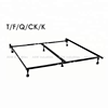 Bed frame with 6 legs made of high carbon angle steel