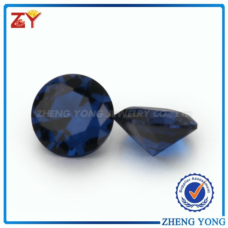 Top Quality Round Shaped Synthetic Sapphire Spinel Rough