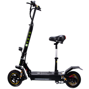 Private Label 70KM H Speed Two Wheels Electric Scooter 800W 1000W Dual Motor E Scooter 1600W 2000 W