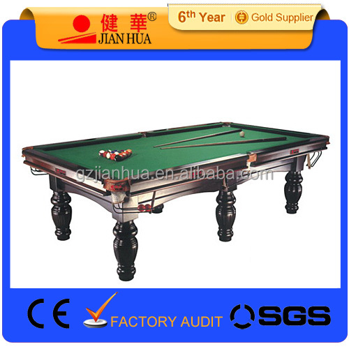 Wholesale size billiard table size billiard table for 12ft snooker table for sale