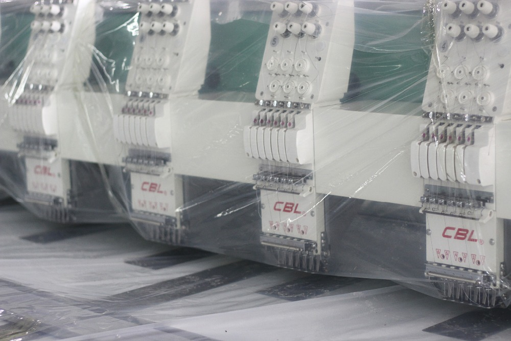 best quality 6 needles flat embrodiery machine