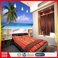 3d ocean wallpper beach wallpaper picture of landscapes decorative wallpaper for restaurant