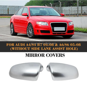 Ally Chrome Full Replacement Side Mirror Covers For Audi A4 S4 B7 04