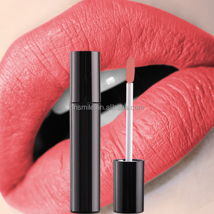 Wholesale matte private label liquid lipstick 65 colors provided customized label
