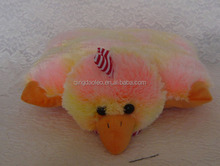 cute baby chick shape plush cushion
