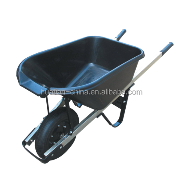 Pb-free and UV stable powder coating,wheel barrow WB5016