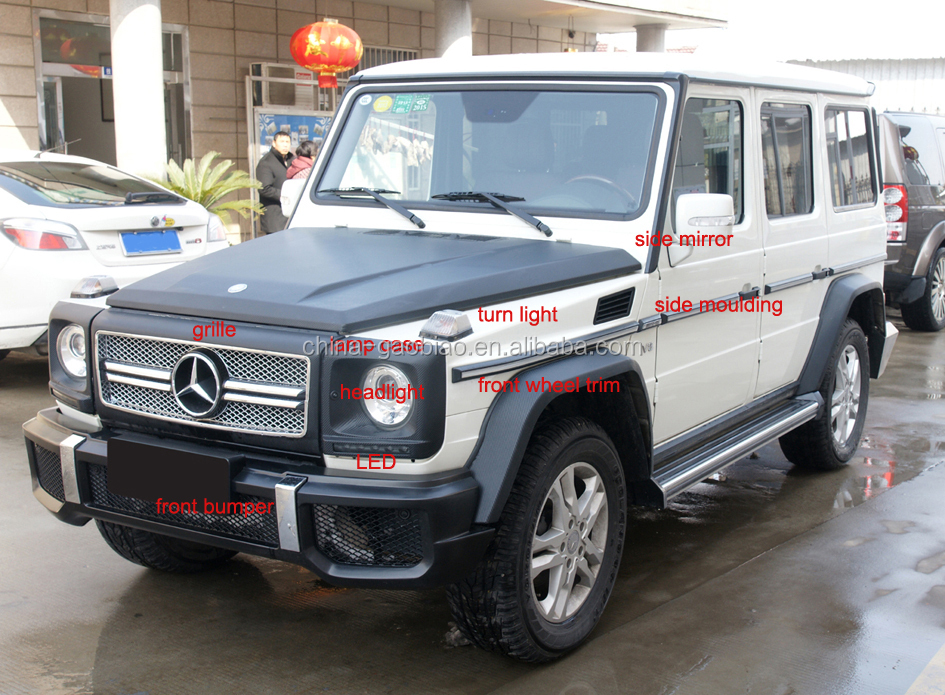W463 g wagon spare tire cover carbon fiber part buy w463 for Mercedes benz g wagon parts