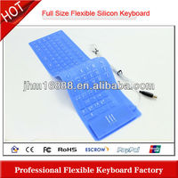 full size flexible keyboard with clear pictures