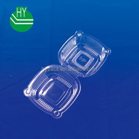 high-quality Plastic Hinged Food Box/container