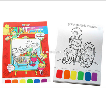 kids diy craft,children educational coloring painting book,children painting kits