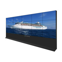 Touch screen 4 K 1.8mm lange <span class=keywords><strong>wenge</strong></span> <span class=keywords><strong>tv</strong></span> stand arm wall mount afsluitbare display voor Receptie hall