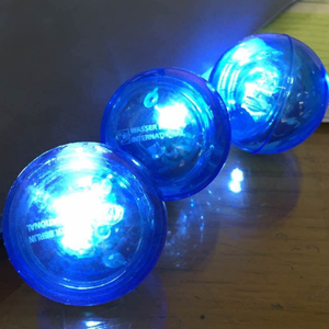 Promotional Rubber Material High Quality Lighted Led Bouncing Ball
