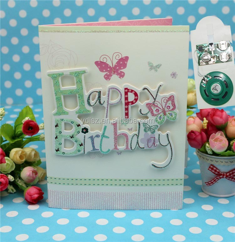 Customized Sample 3d Handmade Birthday Greeting Card Designs Buy – Birthday Greeting Sample