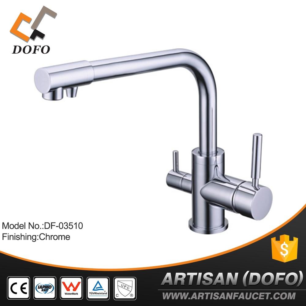 Filtro de agua sanitaria grifo de la cocina grifo de 3 vías-Grifos ...
