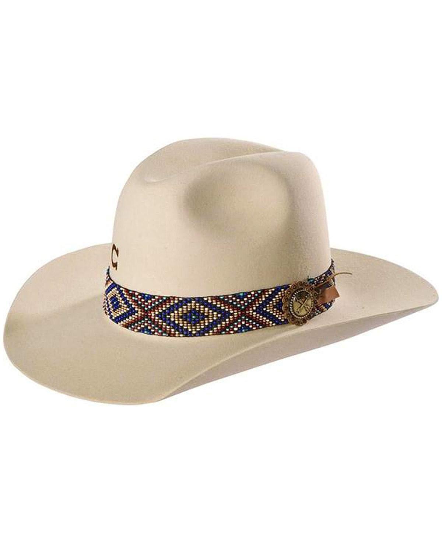 adc7a564e1da5 Get Quotations · Charlie 1 Horse Unisex Ivory Old Hag 5X Felt Hat -  Cfodhg-213474
