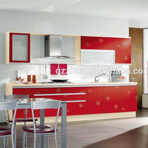 Alibaba Top Selling Plastic Kitchen Cabinet For Kitchen Decorative Material Wholesale