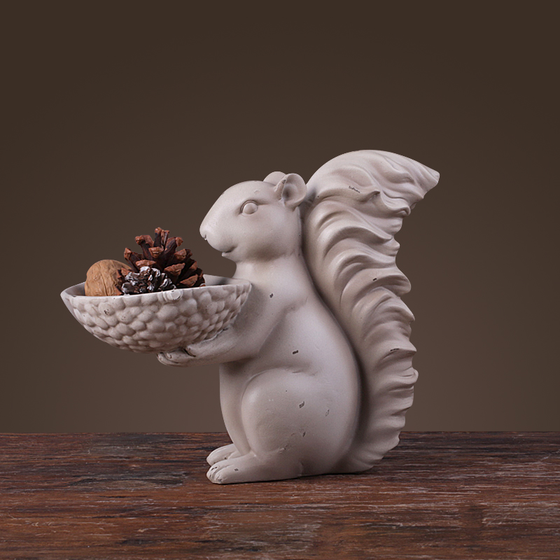 Squirrel nut plaque assiettes décoratives creative vaisselle ...