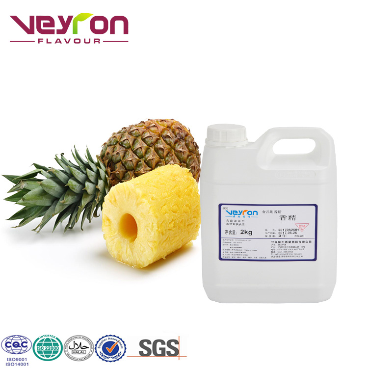 Veyron Brand Oil Base Roast Seeds and Nuts High Quality Fruit Fragrance Essence vape liquid flavors Pineapple Flavor