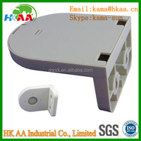 Custom made Plastic CCTV dome camera wall mounting bracket