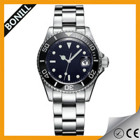 Mechanical and fashionable mens diver watch made in china