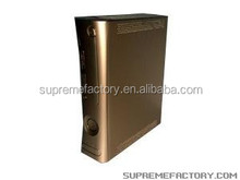 GOLD CHAMPAGNE XCM Full Shell Case Replacement For Microsoft Xbox 360 Custom Design