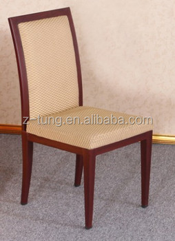 2014 new design red chairs used for hotel ZT-1161C