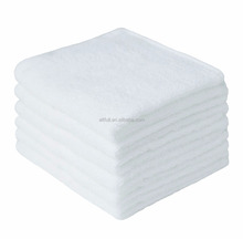 Buy direct from China factory organic high quality bamboo fiber baby face towel