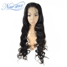New Star 28inch 100% Peruvian Virgin Human Hair Full Lace Wig