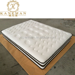 japan market single bed spring mattress