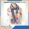 Cheap prices custom design china polyester scarf factory SL-975