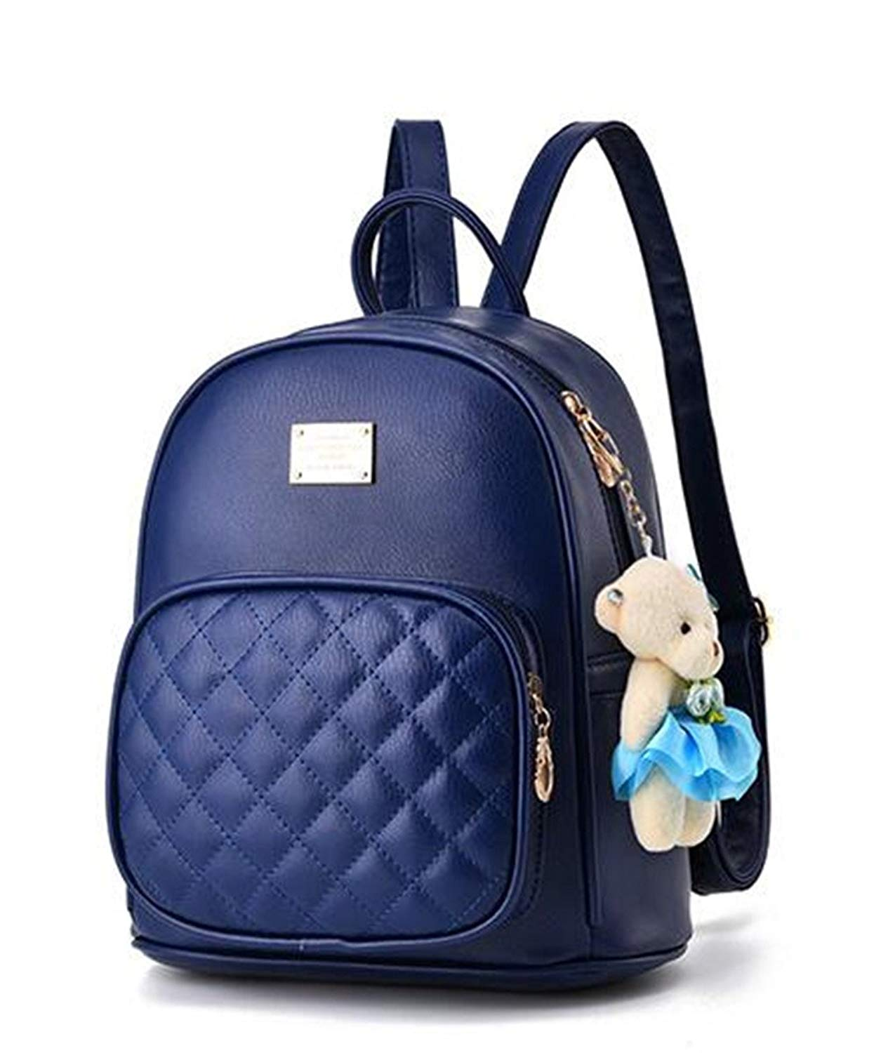 054bb8992 Get Quotations · Mogor Women PU Leather Backpack Purse Satchel School Bags  Knapsack for College