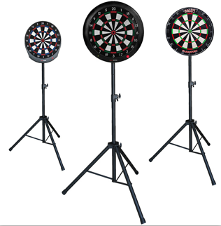 Custom printed dartboard surround for bristle board