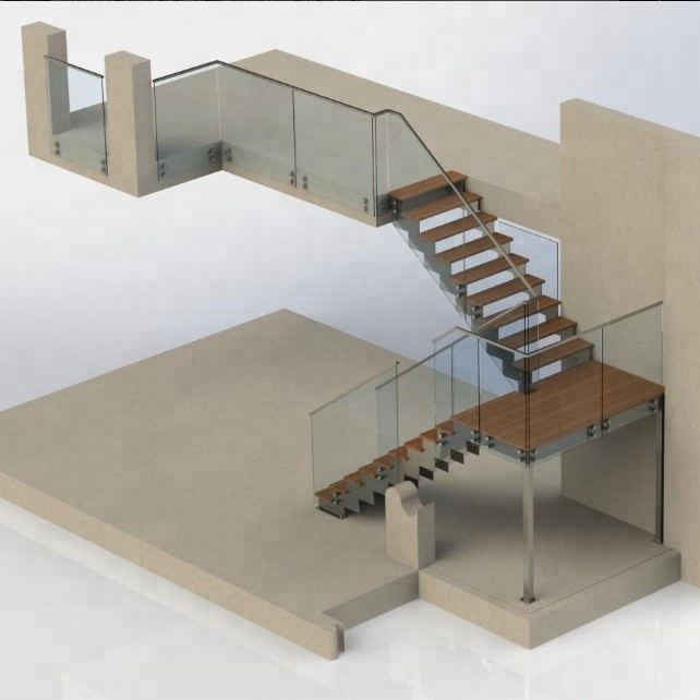 Steel stair stringer design for indoor staircase, View steel stair  stringer, Prima Product Details from Shenzhen Prima Construction Materials  Co ,