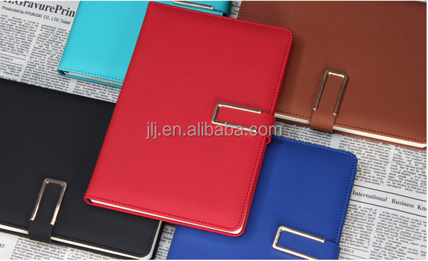 Business gifts imitation leather paperback metallic A5 suede notebook