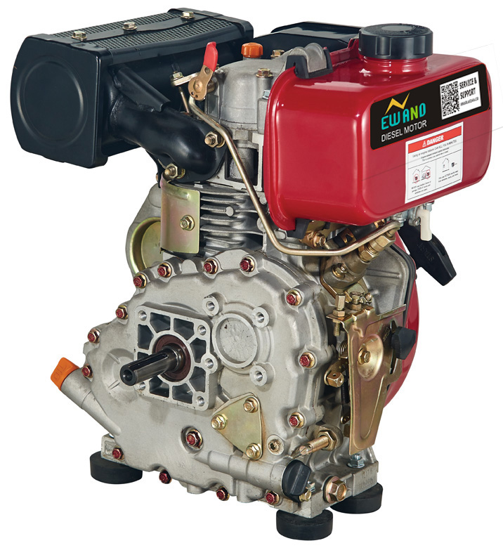 Air Cooled Ohv 4-stroke Single Cylinder 186fa 10hp Diesel ...
