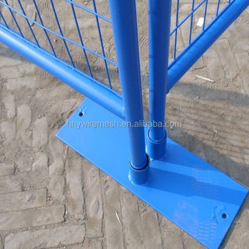welded temporary fence pvc coated temporary barrier chain link temporary fence