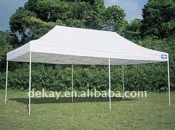 3x6 Heavy Duty Aluminum Frame Canopy Tent Waterproof Blank Cover ...