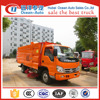 FORLAND 4*2 Small street sweeper truck with four wheel steering